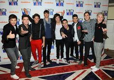 One Direction meets Big Time Rush, I want that carpet!