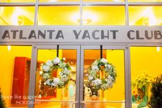 yacht club, gorgeous venue, atlanta event space, atlanta wedding locations, wedding reception, boat lovers, wedding photography :: Caroline + Mike's Wedding at The Atlanta Yacht Club in Acworth, GA :: with Anna