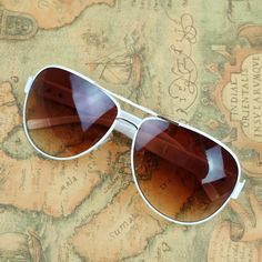 Buy directly from the world's most awesome indie brands. Or open a free online store. White Sunglasses, Red And White, Pure White, Sunglass Frames, Blue Fashion, Indie Brands, Hair Accessories, Pure Products, Summer 2014