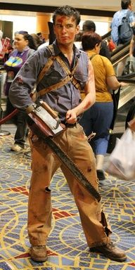 #EvilDead - Ash #cosplay (male) - to balance things out!