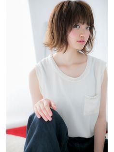 【Lab小山】カジュアルシャギーミディアムb - 24時間いつでもWEB予約OK!ヘアスタイル10万点以上掲載!お気に入りの髪型、人気のヘアスタイルを探すならKirei Style[キレイスタイル]で。