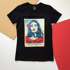 OBEY - DEFEND DIGNITY We The People, T Shirt, Mens Tops, Tee, Tee Shirt