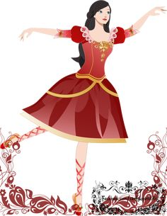 """The 12 Dancing Princesses: Blair by Indonesian Artist Cindy Lovina (""""tomatocrime"""") on Deviant Art."""