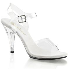 Pleaser Women's Caress-408 Sandal >>> You can find out more details at the link of the image.