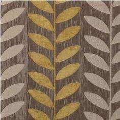 Fabric in Leaf Pattern