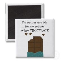 Chocolate Saying