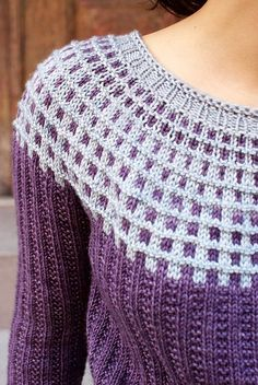 Nothing wrong with combining texture with color!  Ravelry: Breezy Daydream pattern by Kirsten Kapur: