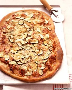 BBQ Chicken Pizza - always a favorite!  40 other pizza ideas from Martha.