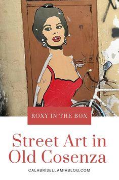 Street Art in Cosenza: Roxy in the Box - Calabrisella Mia