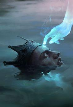 Rei afogado de Tropista.
