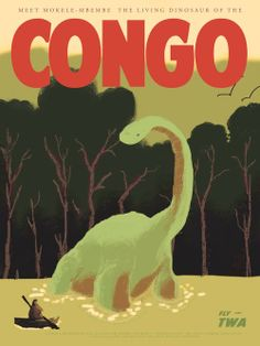 Cool Art: 'Congo' Part of Fernando Reza's 'Mythic Beasts' Travel Series