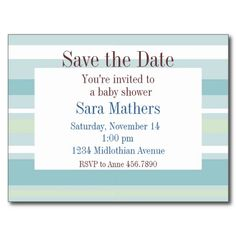 20 Best Baby Shower Save The Date Cards Images Classy Baby Shower