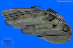 Galáctica - Cylon Raider - Galería (9) by Toromodel, via Flickr Battlestar Galactica Model, Kampfstern Galactica, Sci Fi Models, Model Building, Small World, Plastic Models, Raiders, Science Fiction, Star Wars
