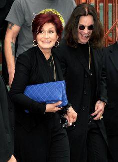 """Sharon y Ozzy Osbourne en el lanzamiento de """"13"""" el nuevo álbum de Black Sabbath"""