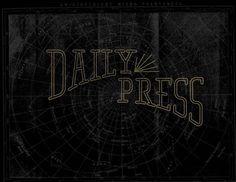 Daily Press Identity on Behance