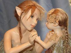 Autumn Fairy Tale - Hannie Sarris Fairy Fantasy Sculptures