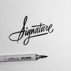 type-lover:  Brush Lettering Collectionby Neil Secretario