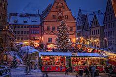 rothenburg ob der tauber | Rothenburg ob der Tauber, Weihnachtsmarkt 2013 | SUPER ...