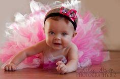 Baby in Tutu - too cute - must get a tutu!