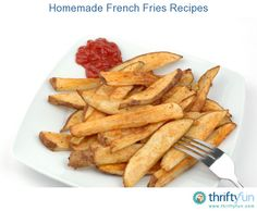 This page contains homemade french fries recipes. There is nothing better than hot, homemade french fries, fresh out of your oven or fryer.
