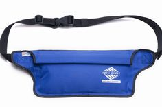 Aqua-Quest 'The Aqua-Roo' Waterproof Money Belt / Waist Bag / Fanny Pack - Blue Model