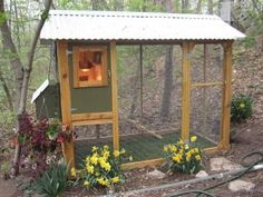 easy chicken coop plans - Google Search