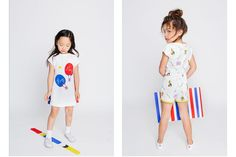 Inspired by the city of Hong Kong, clothing label Oaks of Acorn's SS17 collection is vibrant and full of colour. More details Junior Style Kids fashion blog. #Juniorfashion #oaksofacorn #SS17 #baby #kidsfashion #sporty #sportylook