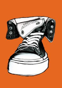 Converse Illustration for OLMO Shoes