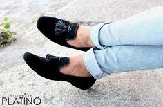 Loafer Negro exclusivo por Tiendas Platino $899 envíos todo México!! Entrega día siguiente! www.tiendasplatino.com.mx