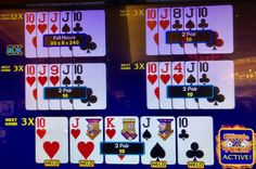 Chances of catching a boat holding two pair are one in 12, Here, I caught one but I had an 11 multiplier on it. Horseshoe Casino 11 April 2018.