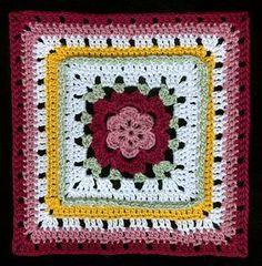Crochet Veronica's Rose