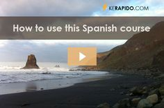 Introduction to the KeRapido Free Spanish Online Course