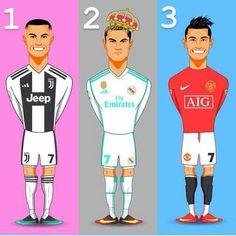 Cristiano Ronaldo Past ➡ Manchester United ➡ Real Madrid C.F Future ➡ Juventus Juventus Team, Ronaldo Juventus, Cristiano Ronaldo Cr7, Neymar, Messi, God Of Football, Football Fans, Manchester United, Real Madrid
