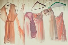 again love these bridesmaid dresses, the style, mix n match and colours