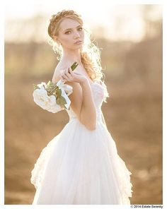 Perfect vintage fairy wedding dress-lace and tulle short wedding dress-ready to wear-one of a kind-size XS