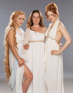 Phoebe, Piper, and Paige--Charmed