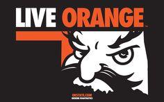 Old live orange design. oklahoma state cowboys pistol pete