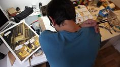 """The Making of the comic book """"Les variations d'Orsay"""" by Manuele Fior Film & editing by Massimo Colella - La Bande Destinée : http://www.labandedestinee.com/ Music…"""