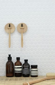 make your own wall toothbrush holder