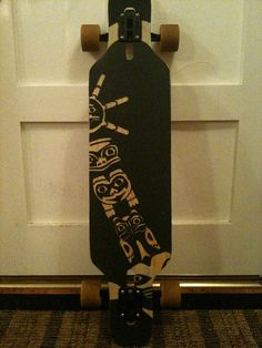 grip tape designs | Logger Longboarding shreds the SOUND