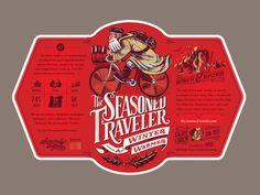 The Seasoned Traveler Winter Warmer Ale on Behance