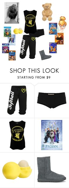 """""""Movie Night"""" by ticket-to-ride ❤ liked on Polyvore featuring Marni, Disney, Eos, Baldwin and UGG Australia"""