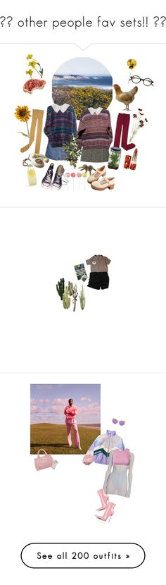 """""""🌸♥ other people fav sets!! ♥🌸"""" by queenofrocknroll ❤ liked on Polyvore featuring Pier 1 Imports, Dolce&Gabbana, OKA, Sally Scott, Converse, Alöe, Yves Saint Laurent, Paul & Joe, Bormioli Rocco and Chanel"""