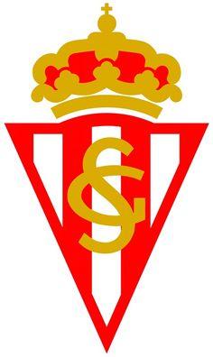 online store e0493 efd0c Sporting Gijón Equipo De Fútbol, Emblemas, Atleta, Logos De Equipos, Logos  De