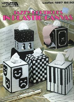 Jazzy Boutiques In Plastic Canvas - Leisure Arts 1287 LEI...