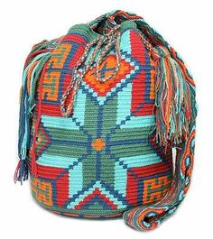 Wayuu Mochila | eBay $125.00 Buy it Now. This is a decent price for one of these bags and its a really NICE color/design.