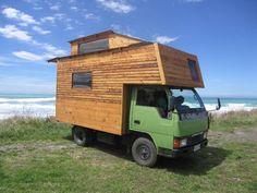 Mitsubishi Canter Housetruck. Fantastic!                           #van #camping