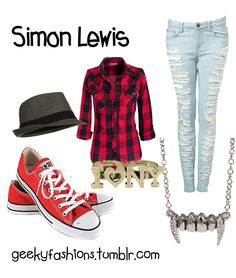 Simon Lewis - The Mortal Instruments Fashion Don't like the jewelry Movie Inspired Outfits, Themed Outfits, Casual Outfits, Fashion Outfits, Womens Fashion, Scene Outfits, Disney Bound Outfits, Fandom Fashion, Fandom Outfits