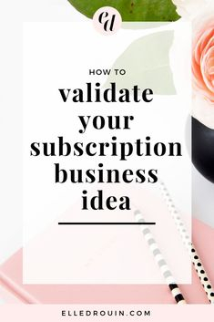Before you get started creating a subscription-based offer, you have to validate your idea. Here are 6 things you can do to validate your subscription business idea so that you don't waste time creating something that your audience doesn't want! Creative Business, Business Tips, Online Business, Business Website, Business Meme, Creating A Business, Starting A Business, Business Branding, Business Marketing