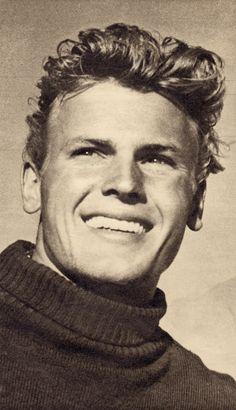 TAB HUNTER teen idol/actor/singer 1950's clipping (minkshmink collection) Minkshmink